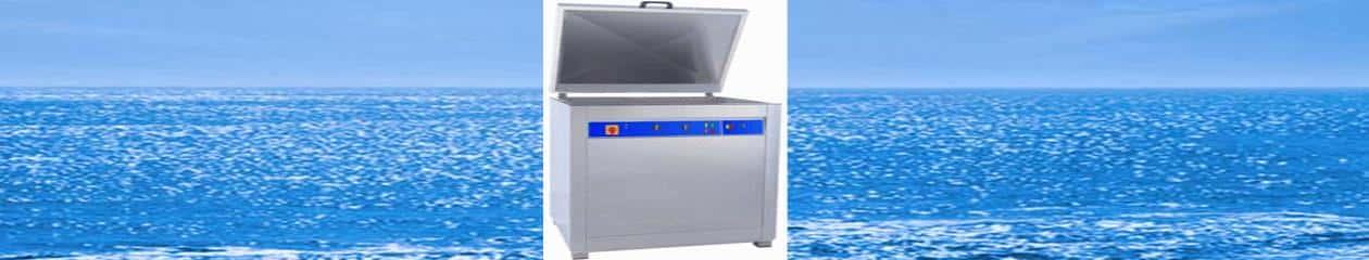 Lavatrici funzionanti con ultrasuoni, acqua e detergenti biodegradabili