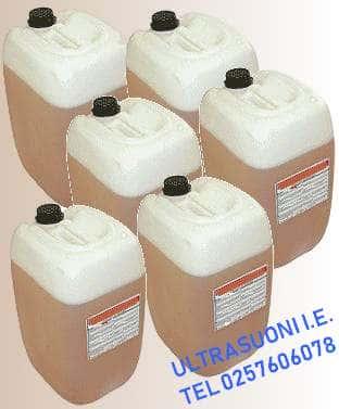 Detergenti per lavaggio e sgrassaggio a ultrasuoni