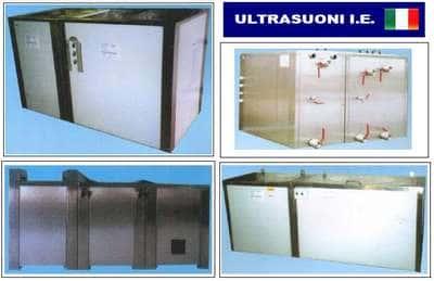 grandi centri di lavaggio con ultrasuoni